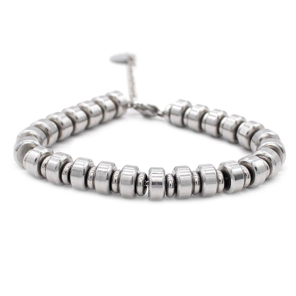 TTT Jewelry Men's HIP HOP Bracelets Stainless Steel Bracelet image39