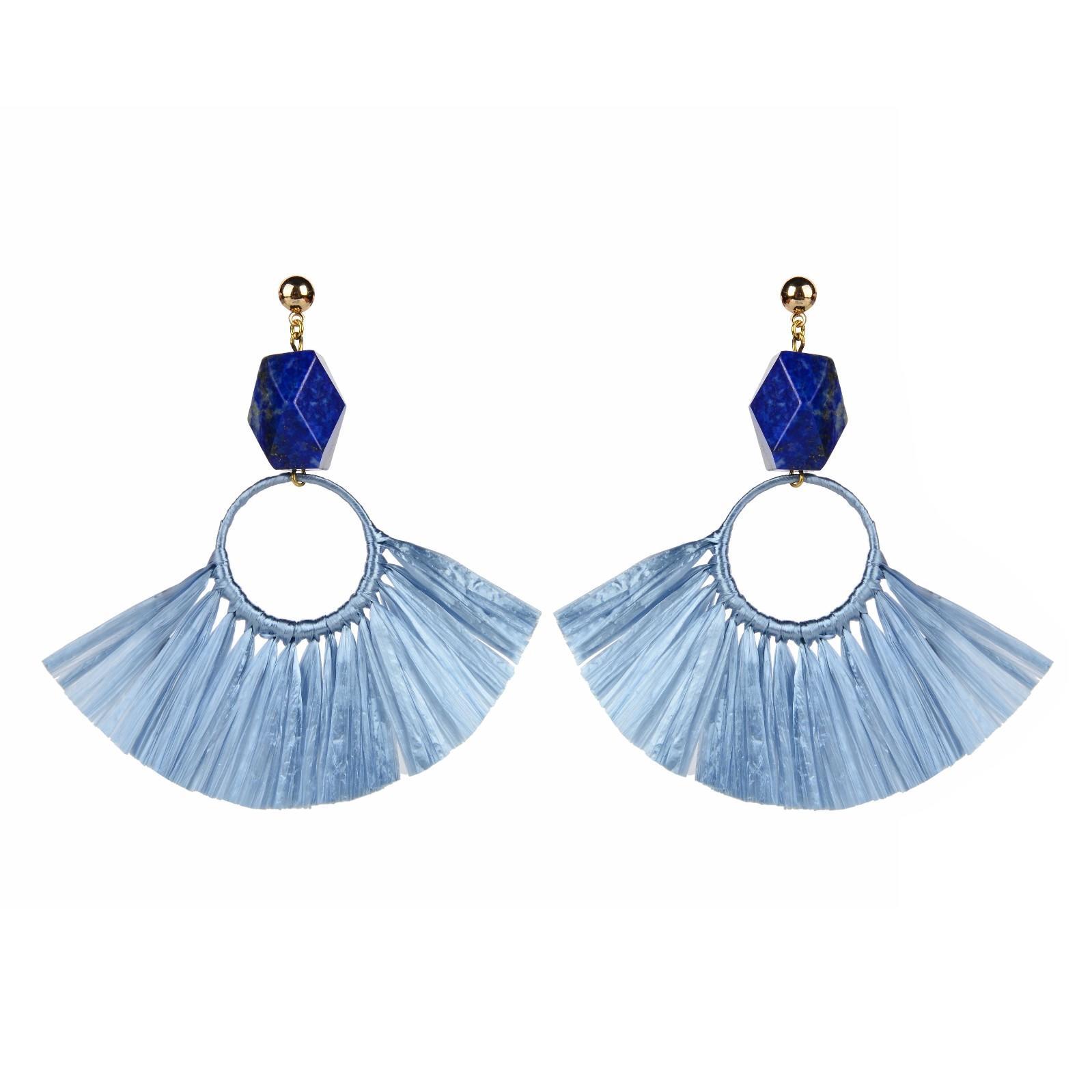 Custom statement boho boho earrings TTT Jewelry handmade