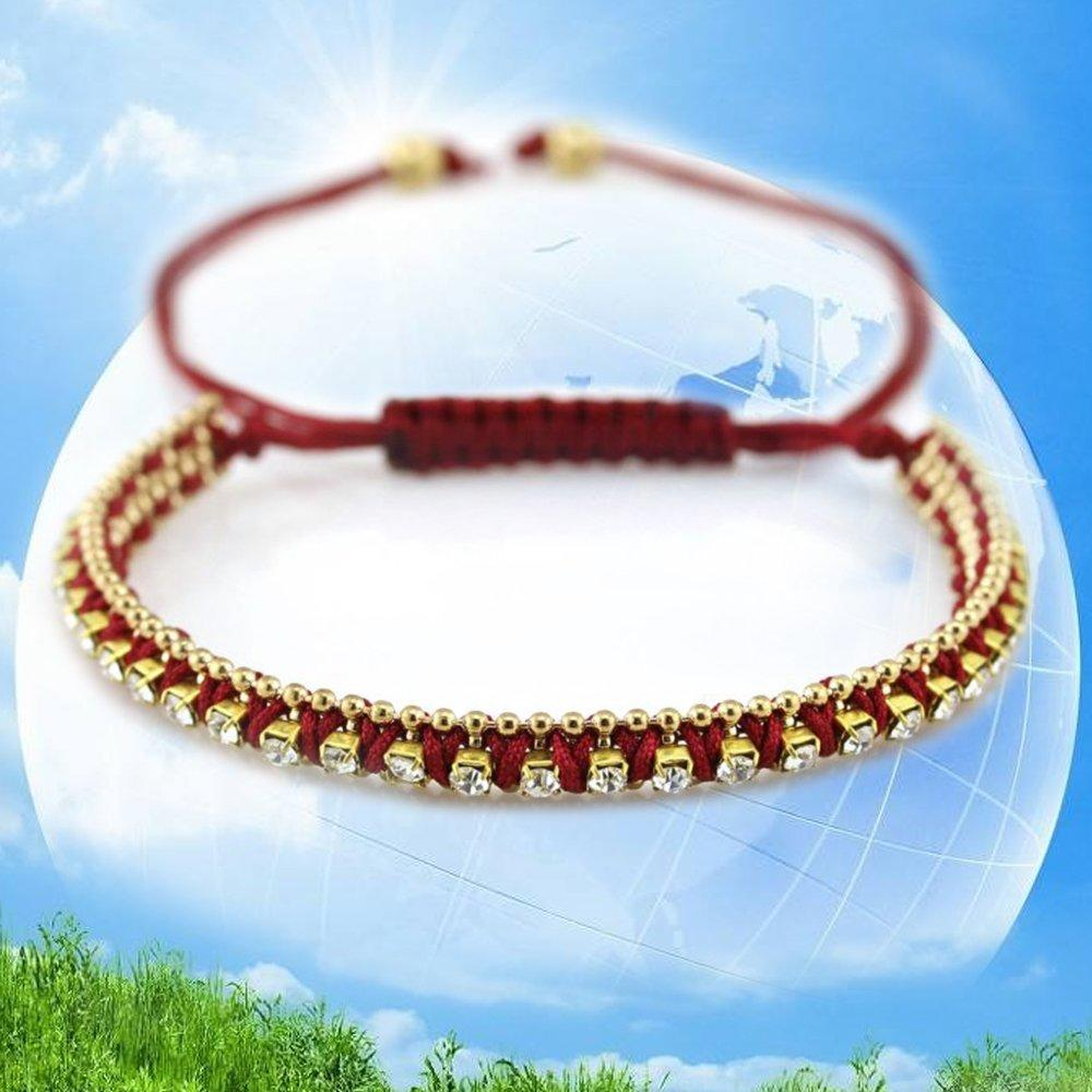 Pure Handmade Kids Christmas Birthday Party Favors Friendship Rope Bracelets