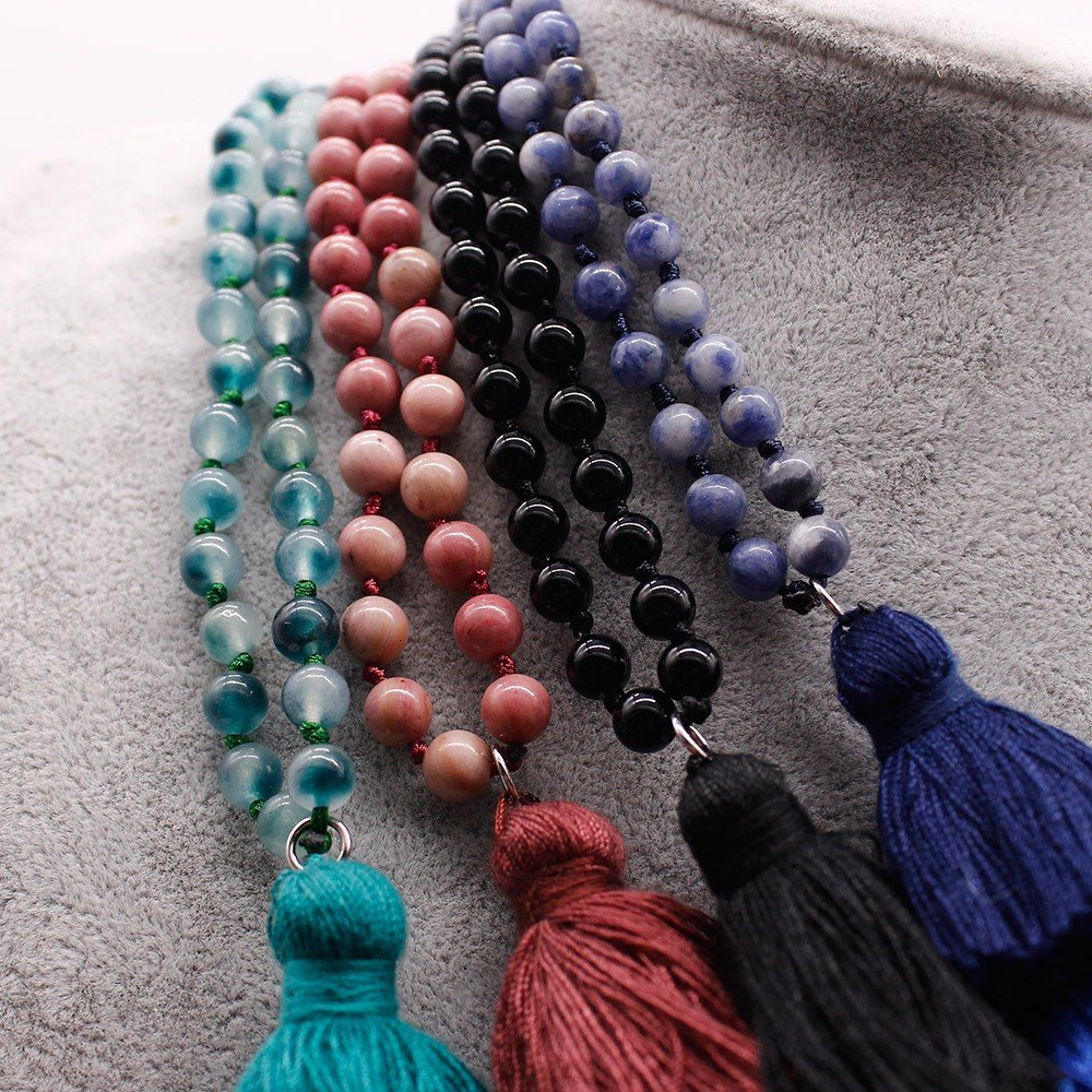108 Beads Mala Necklace Pure Handmade Wholesaler