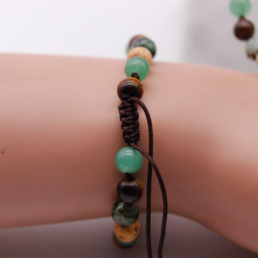 108 Mala Necklace Bracelet Set Pure Handmade Women Jewelry