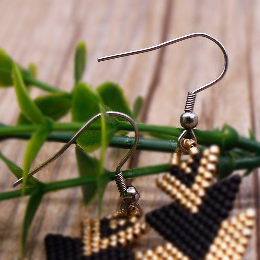 Earrings for Women Pure Handmade Miyuki Seed Beads