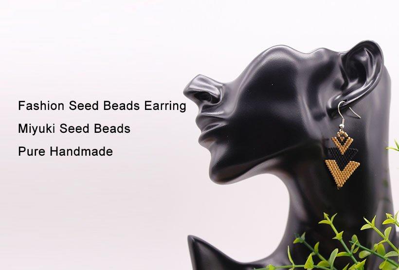 TTT Jewelry Brand handmade glass earrings glass factory