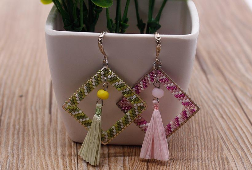 trustworthy beaded tassel jewelry tassel wholesale for e-commerce