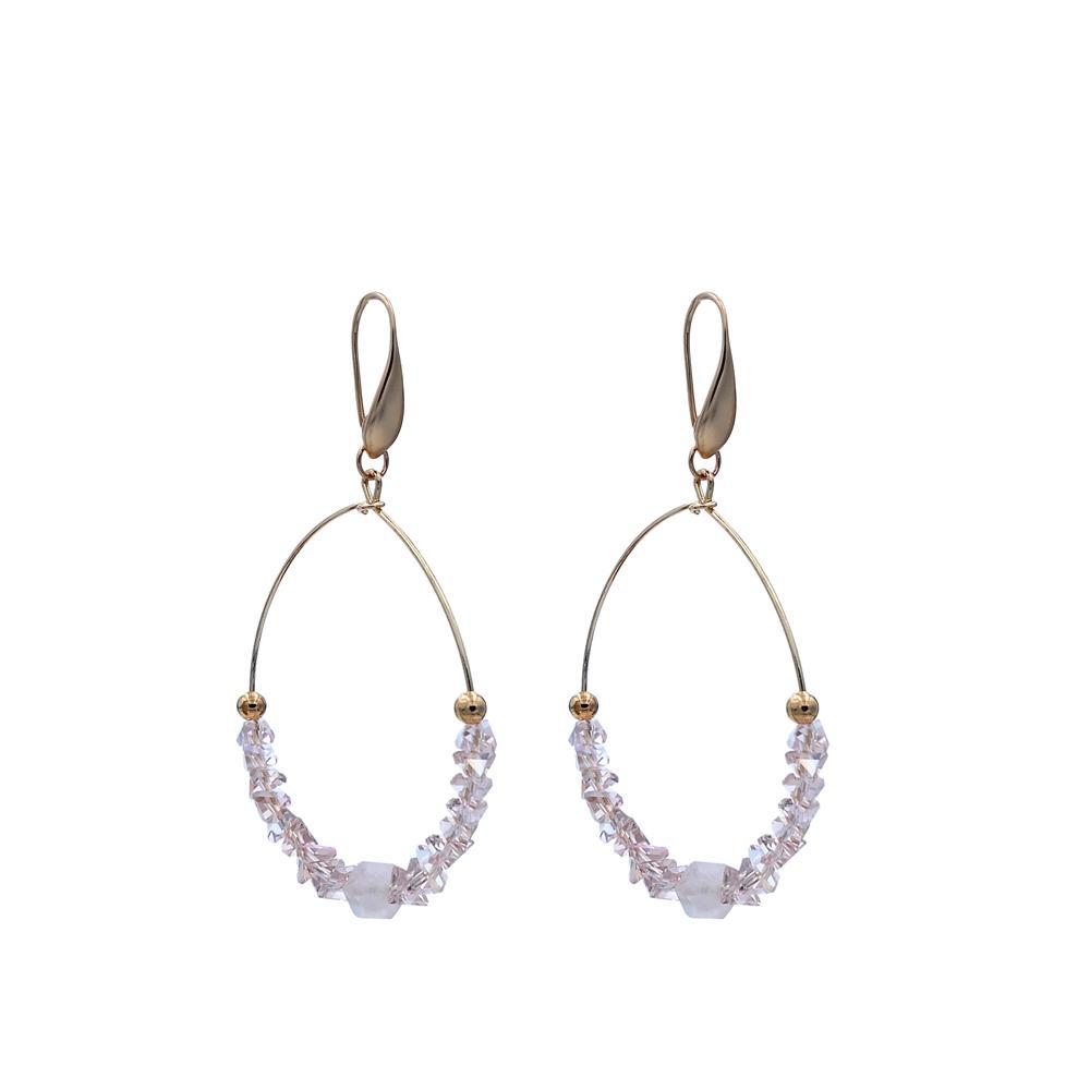 TTT Jewelry Brand handmade pendant custom blue stone earrings