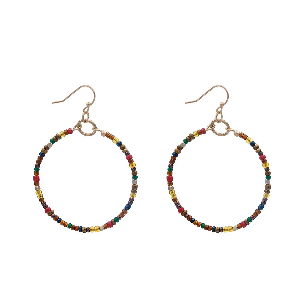Fashion Handmade Small Beads Earrings