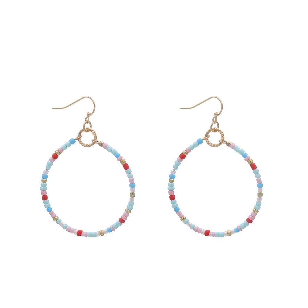 Fashion Handmade Small Beads Earrings