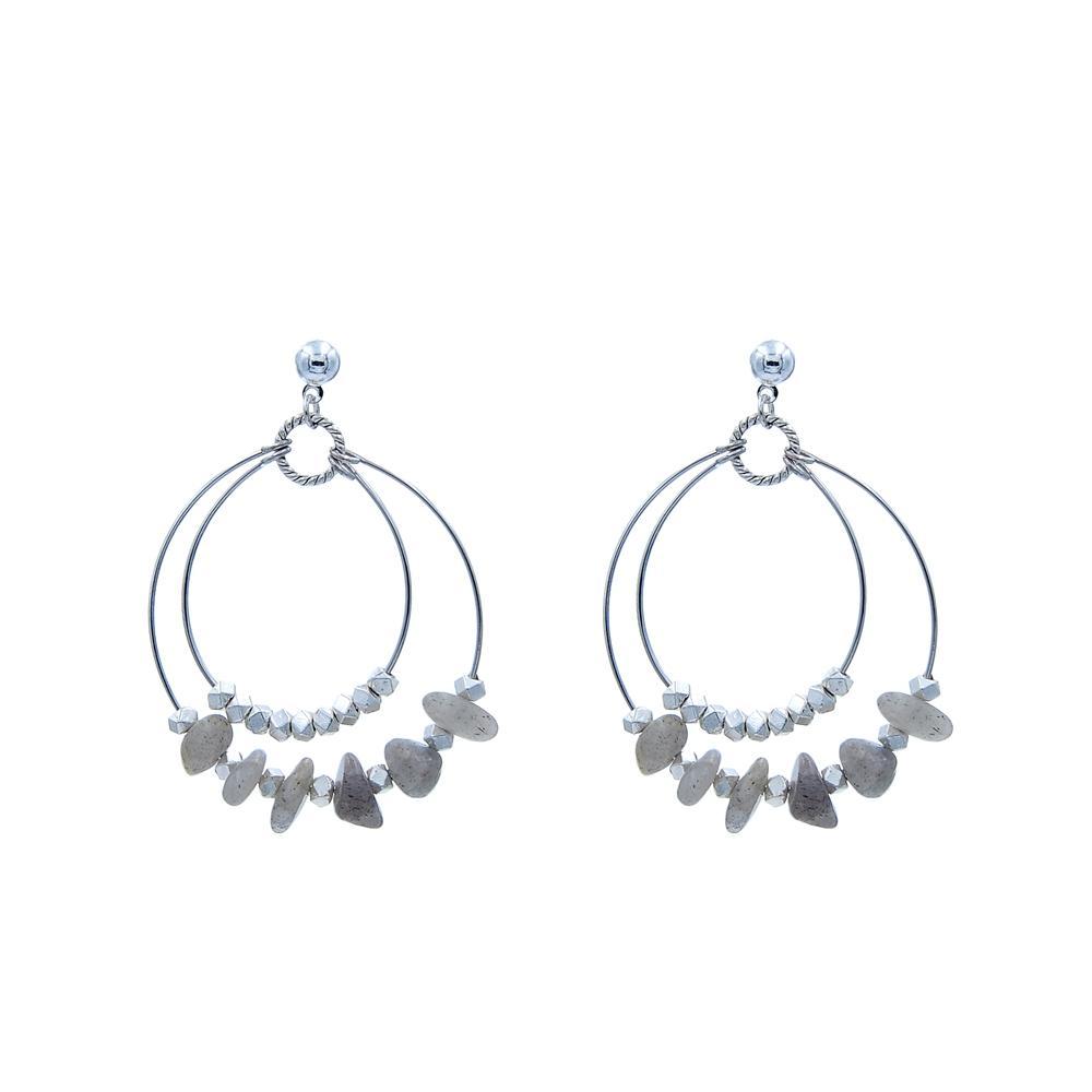 Fashion Handmade Natural Stone Earrings