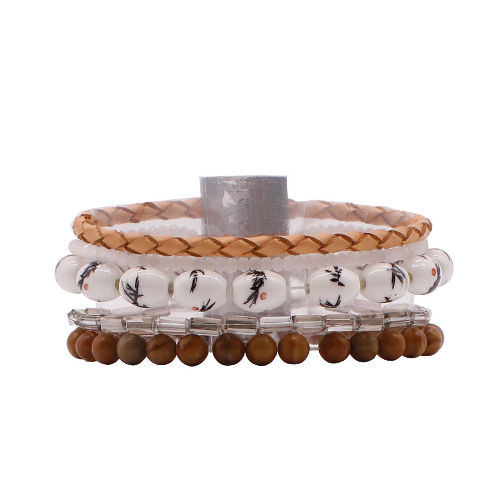 Boho Jewelry Boho Handmade Bracelet With Stone Beads