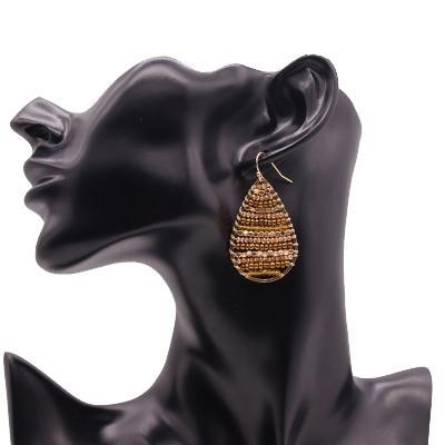 TTT Jewelry Brand miyuki beaded earrings glass glass earrings