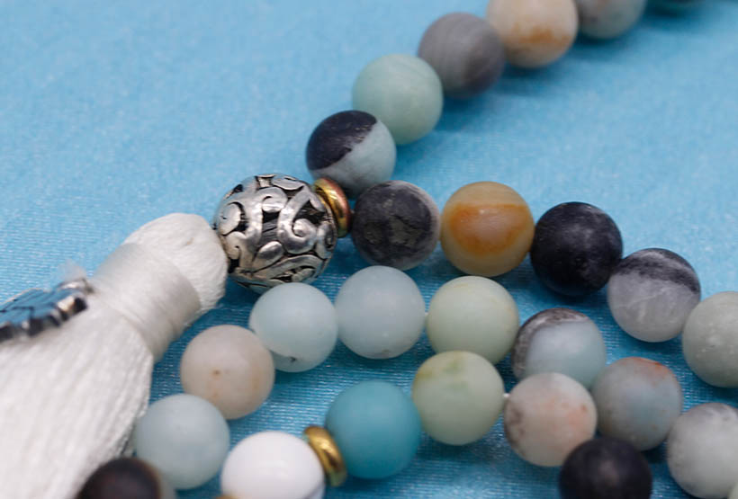 Handmade Muti Natural Stone Beads Necklace wholesale women jewelry