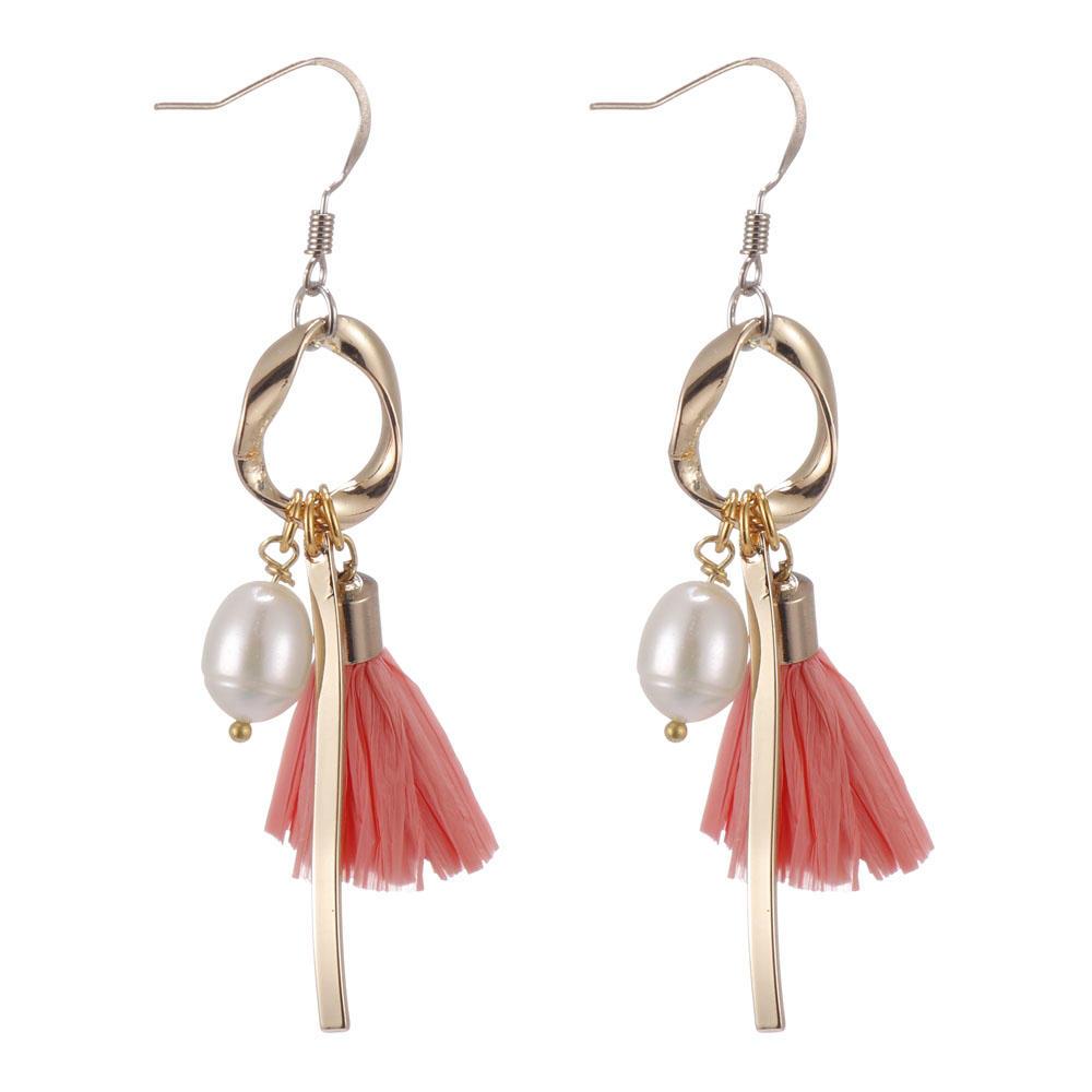 TTT Jewelry Brand bulk raffia earrings raffia factory