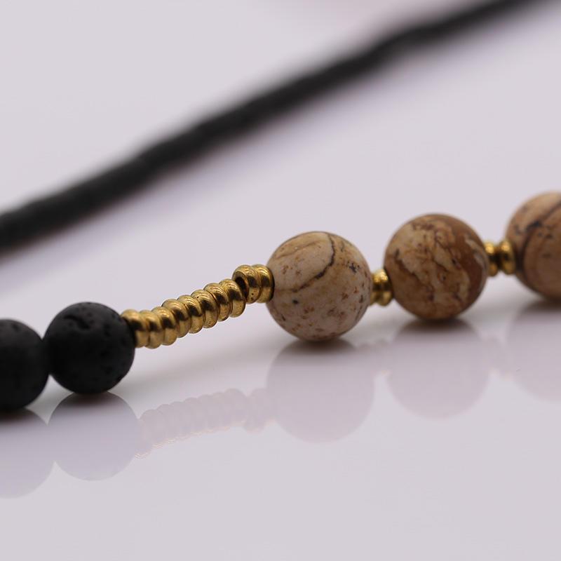 Handmade Miyuki Bead Necklace With Tassel
