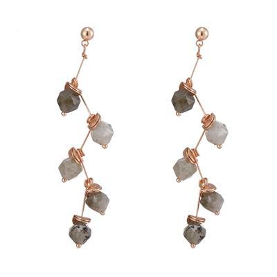 Custom personalized stones gemstone earrings TTT Jewelry elegant