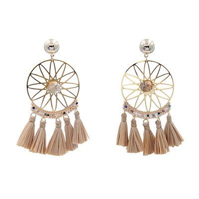 stone earrings elegant gemstone earrings TTT Jewelry