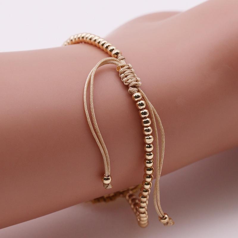 Handmade Copper And Miyuki Beads Charms Bracelet