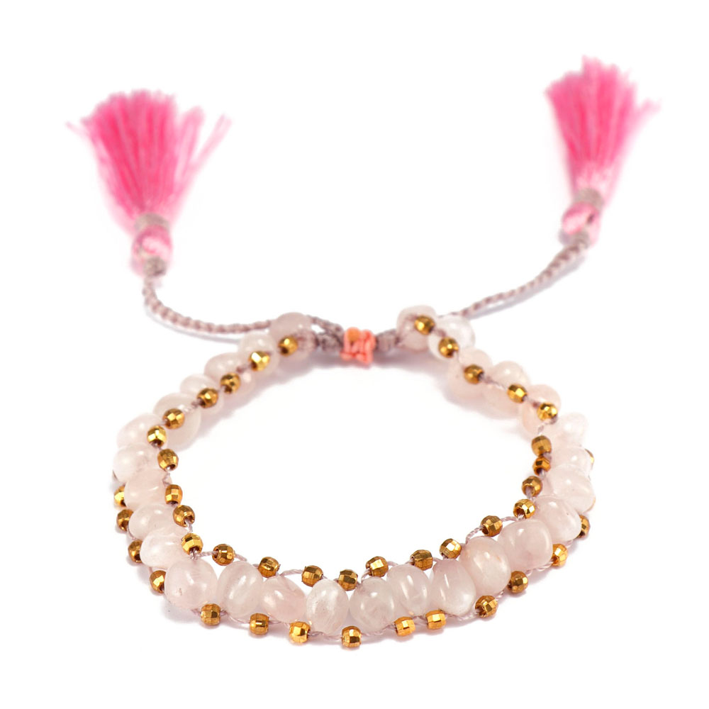 TTT Jewelry charm glass stone bracelet purchase online for merchant-4