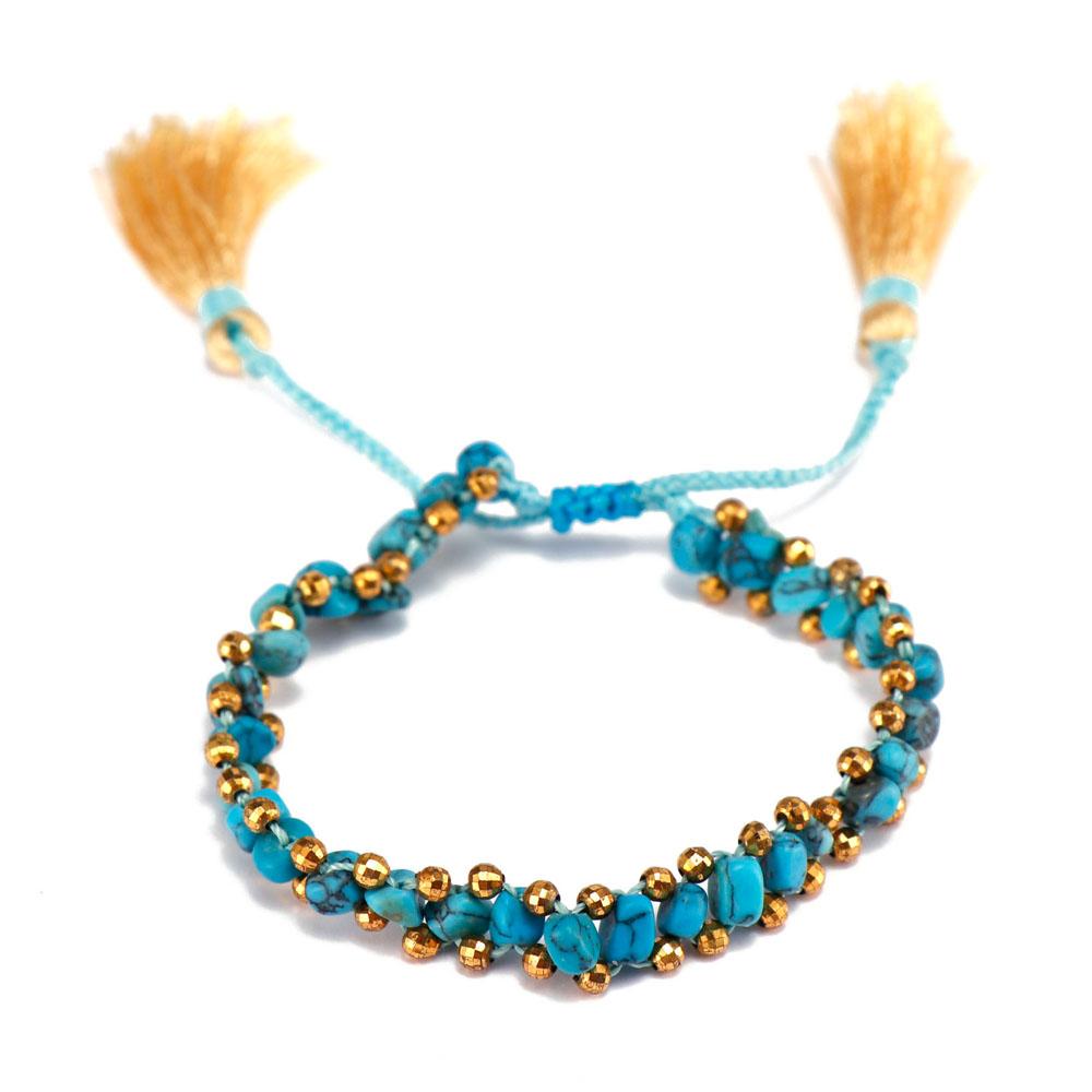 TTT Jewelry charm glass stone bracelet purchase online for merchant-5