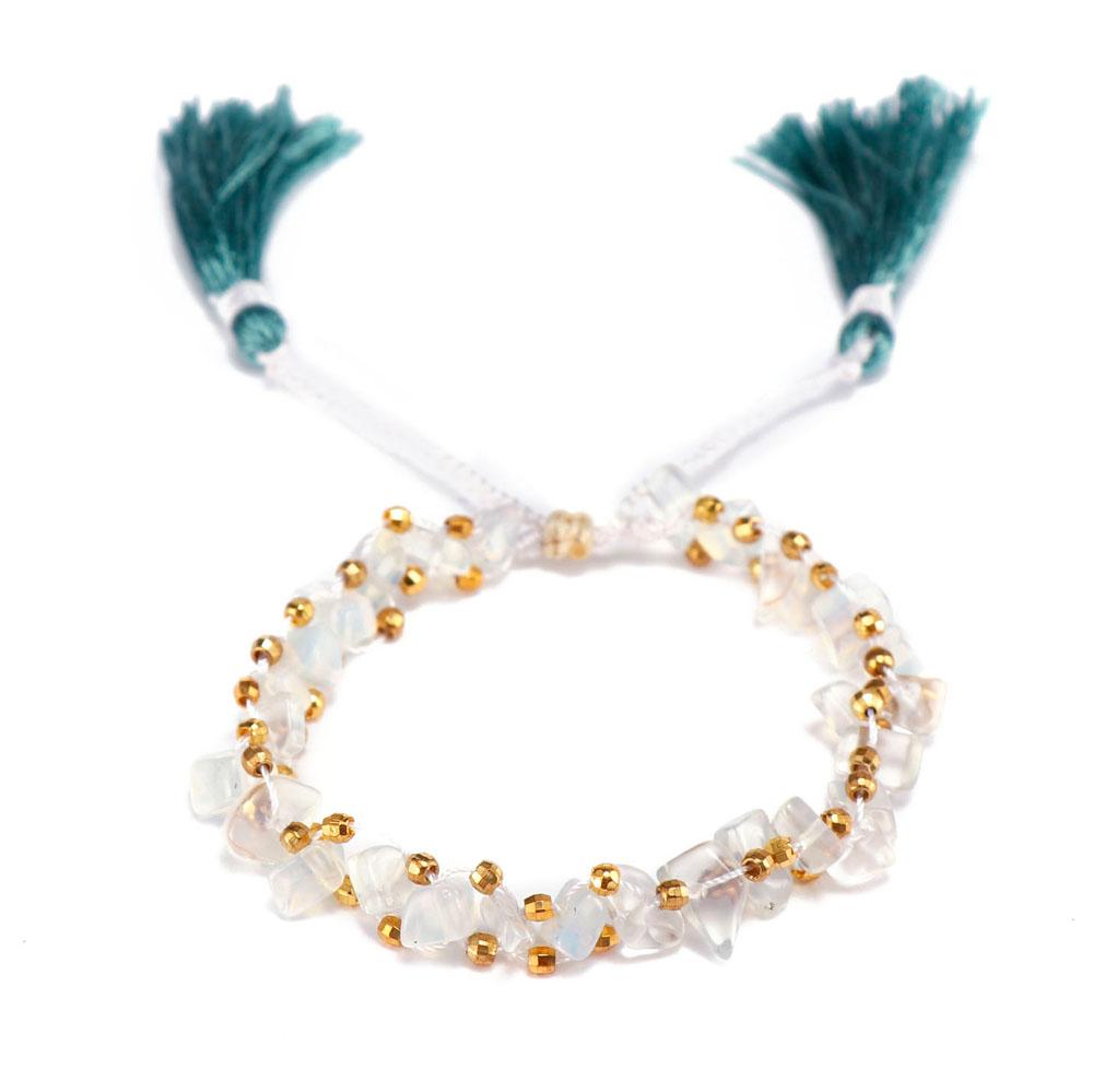 TTT Jewelry charm glass stone bracelet purchase online for merchant-6