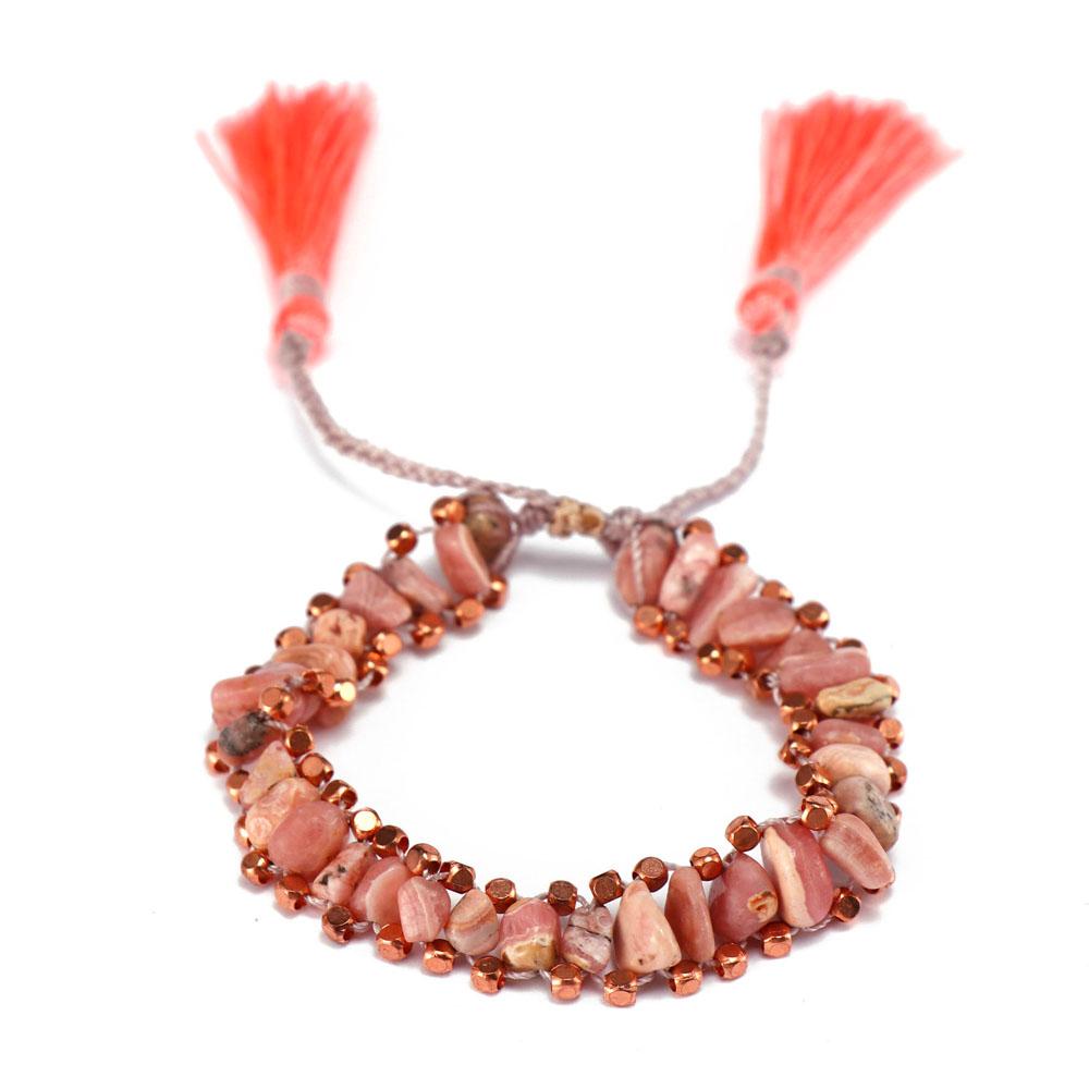 TTT Jewelry charm glass stone bracelet purchase online for merchant-8