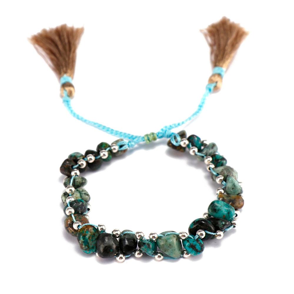 TTT Jewelry charm glass stone bracelet purchase online for merchant-9