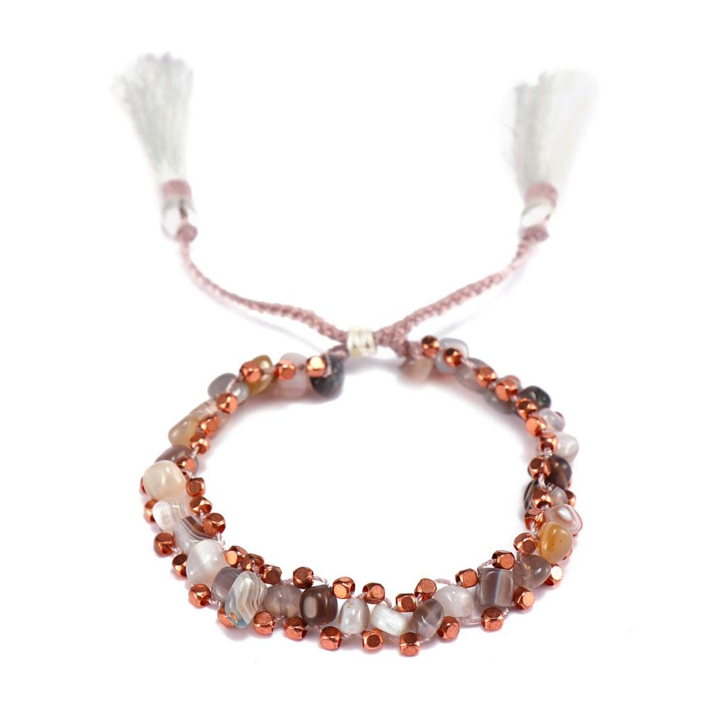 TTT Jewelry charm glass stone bracelet purchase online for merchant-10