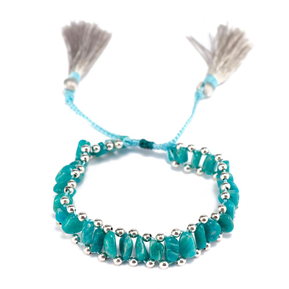TTT Jewelry charm glass stone bracelet purchase online for merchant-11