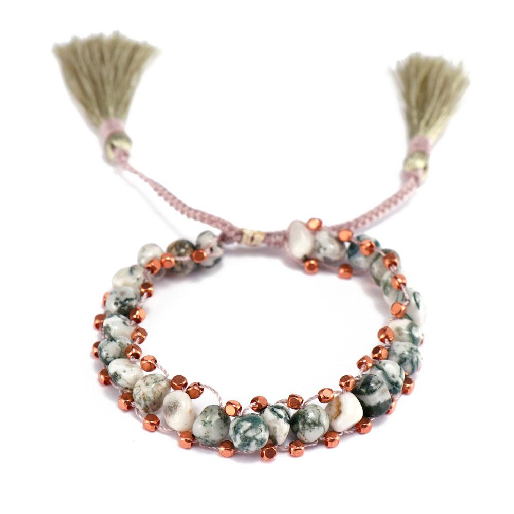 TTT Jewelry charm glass stone bracelet purchase online for merchant-12