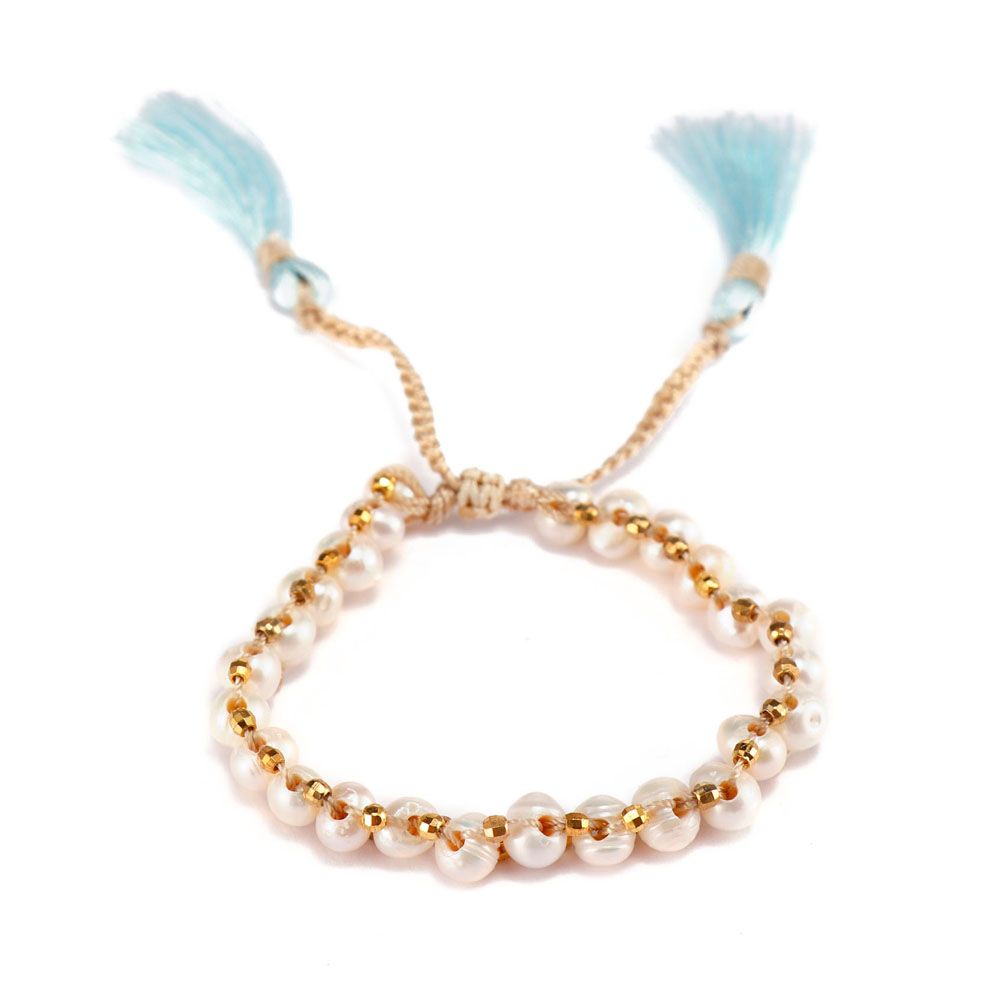 TTT Jewelry charm glass stone bracelet purchase online for merchant-15