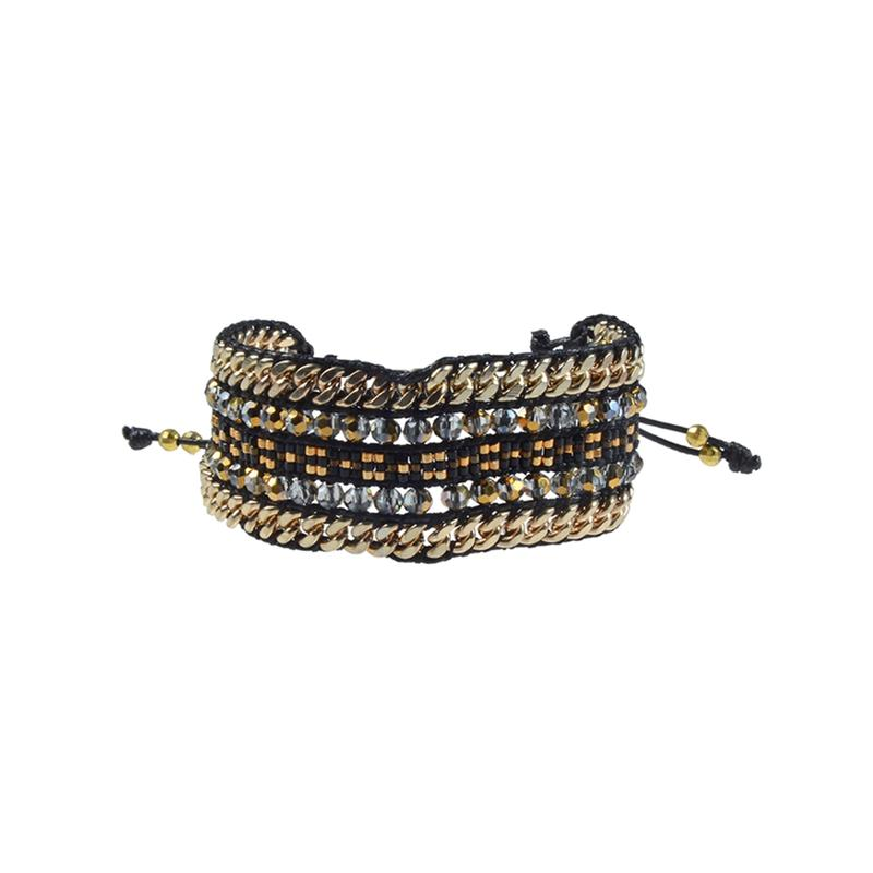 Miyuki Crystal Beads Wrap Bracelet