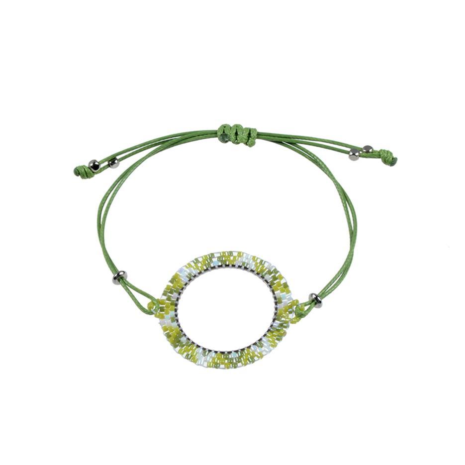 Miyuki Rope Cord Bracelet For Women