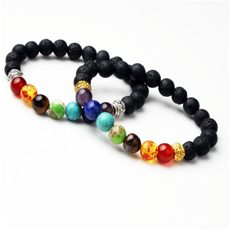 Wholesale Handmade 7 Chakra Bracelet Vintage Design