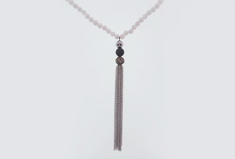 TTT Jewelry Brand necklace amethyst rhinestone necklace beads