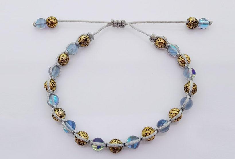 Wholesale handmade lava stone bracelet TTT Jewelry Brand