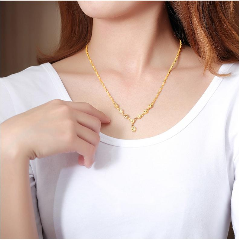 Wholesale Handmade Gold Filled Pendant Necklace