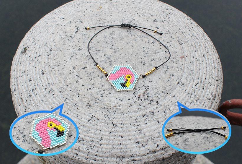 Japanese Miyuki Seed Bead Bracelet