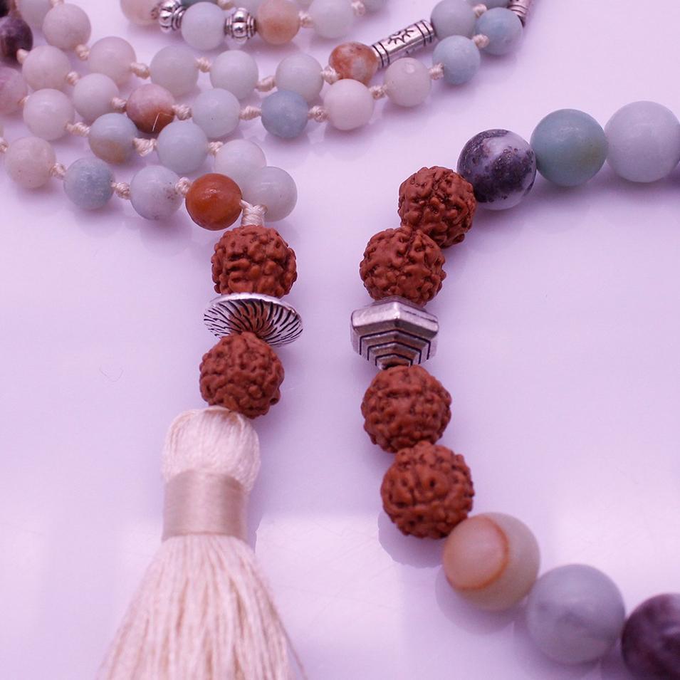 Mala Set Valentine Gift Bracelet For Men Necklace For Women