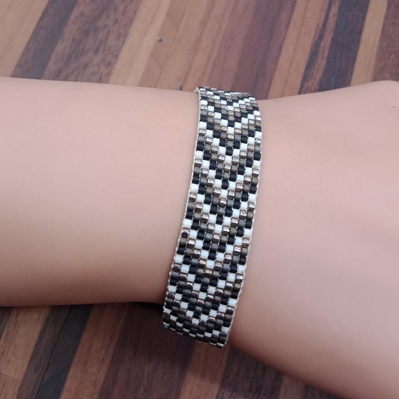 Handmade Miyuki Seed Bead Bracelet