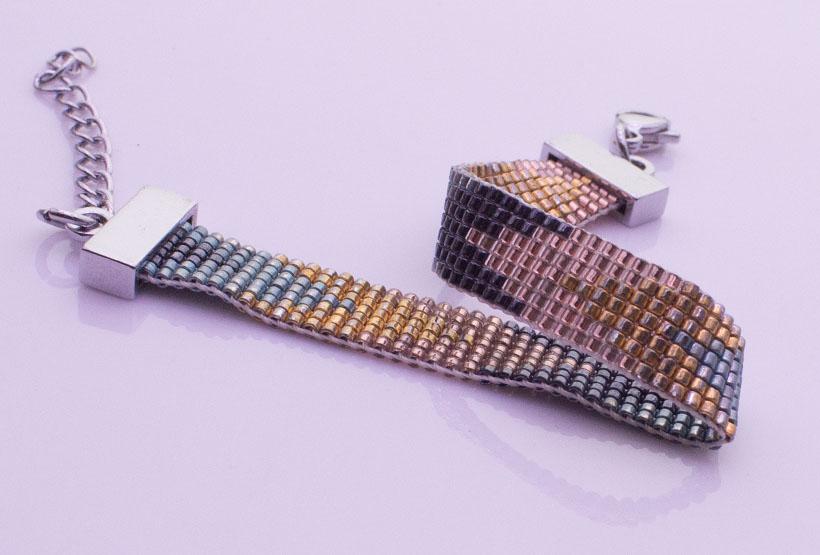 Handmade Japanese Miyuki Lobster Clasp Bracelet