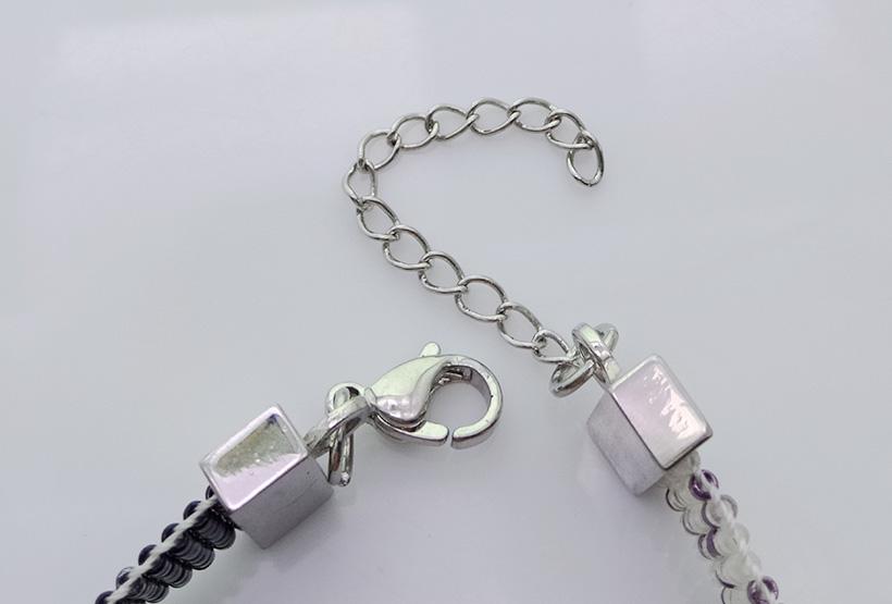 Handmade Japanese Miyuki Beading Lobster Clasp Bracelet