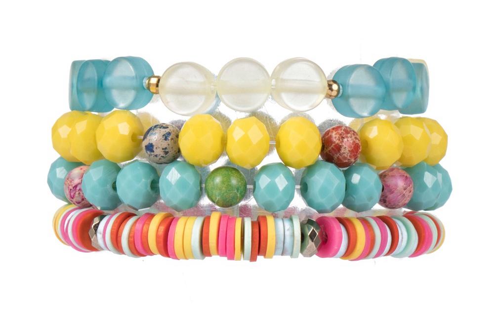 Natural materials, non-irritating children's bracelet wholesale