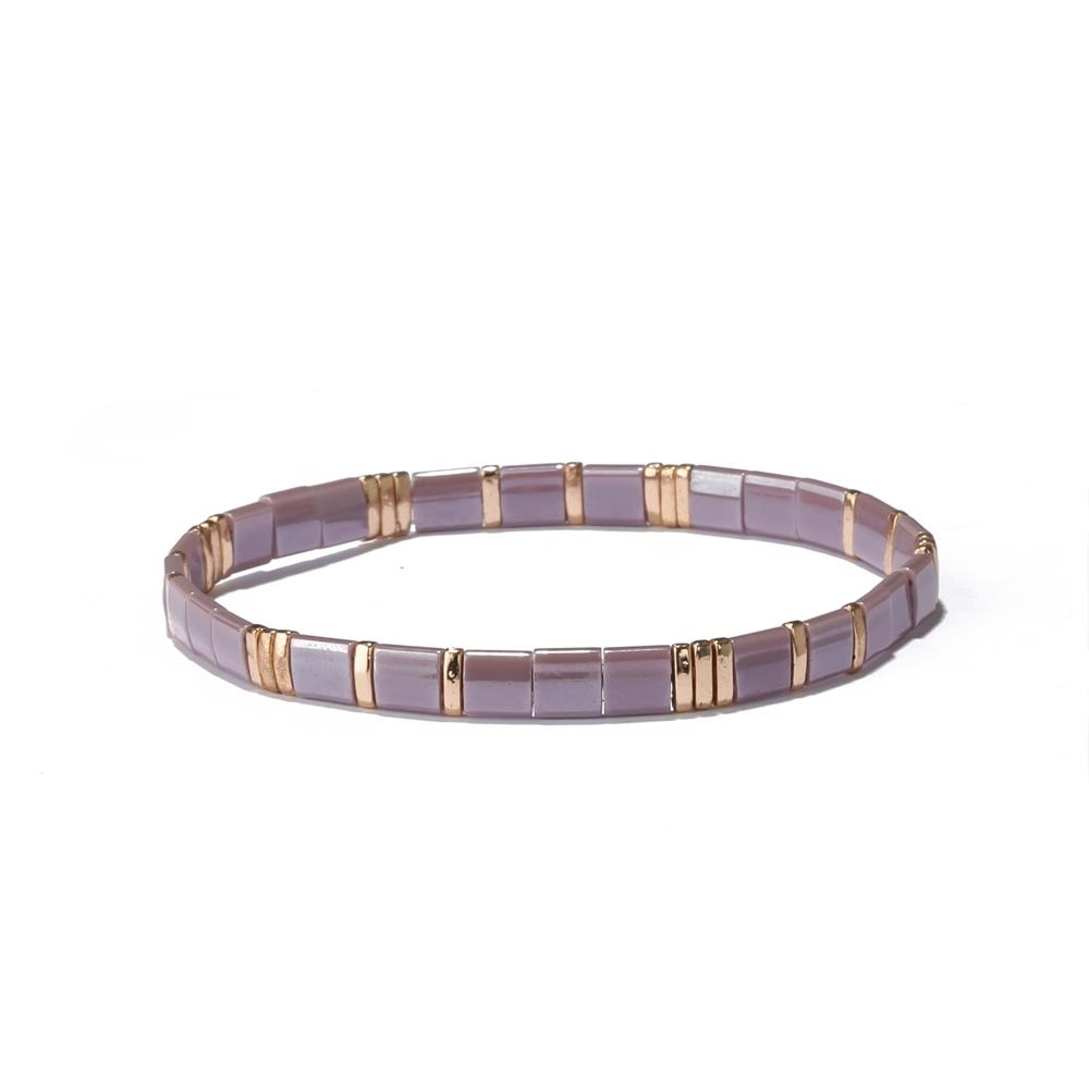 Miyuki Tila Bead Bracelet
