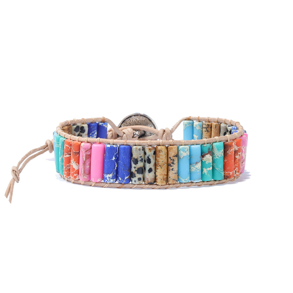 Authentic Yoga Crystal Energy Balance Healing Men's Rock Diffuser Bead Natural 7 Chakra Lava Women Men Stone Bracelet