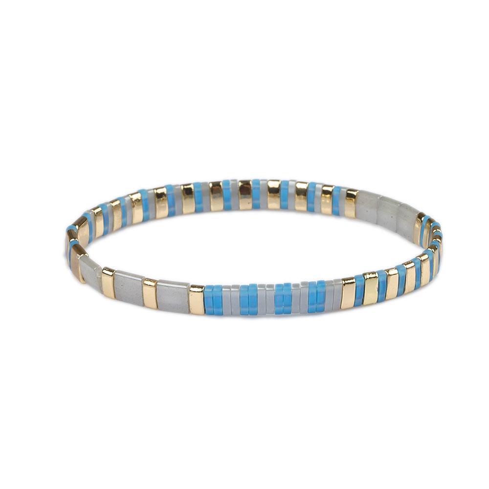 Miyuki Tila Seed Bead Bracelet