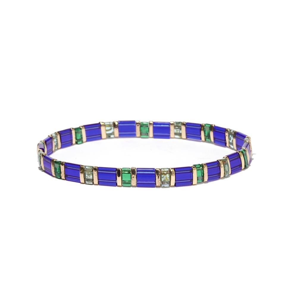 Tila Glass Bead Ocean Beach Bracelet