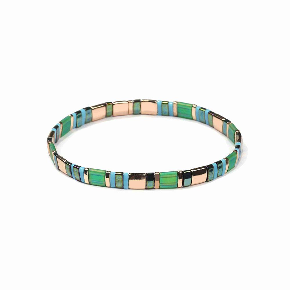 Latest Trendy Wrist Stylish Miyuki Tila Bead Made Luxury Handmade Summer Female Fashion Hand Accessories Bracelet For Women