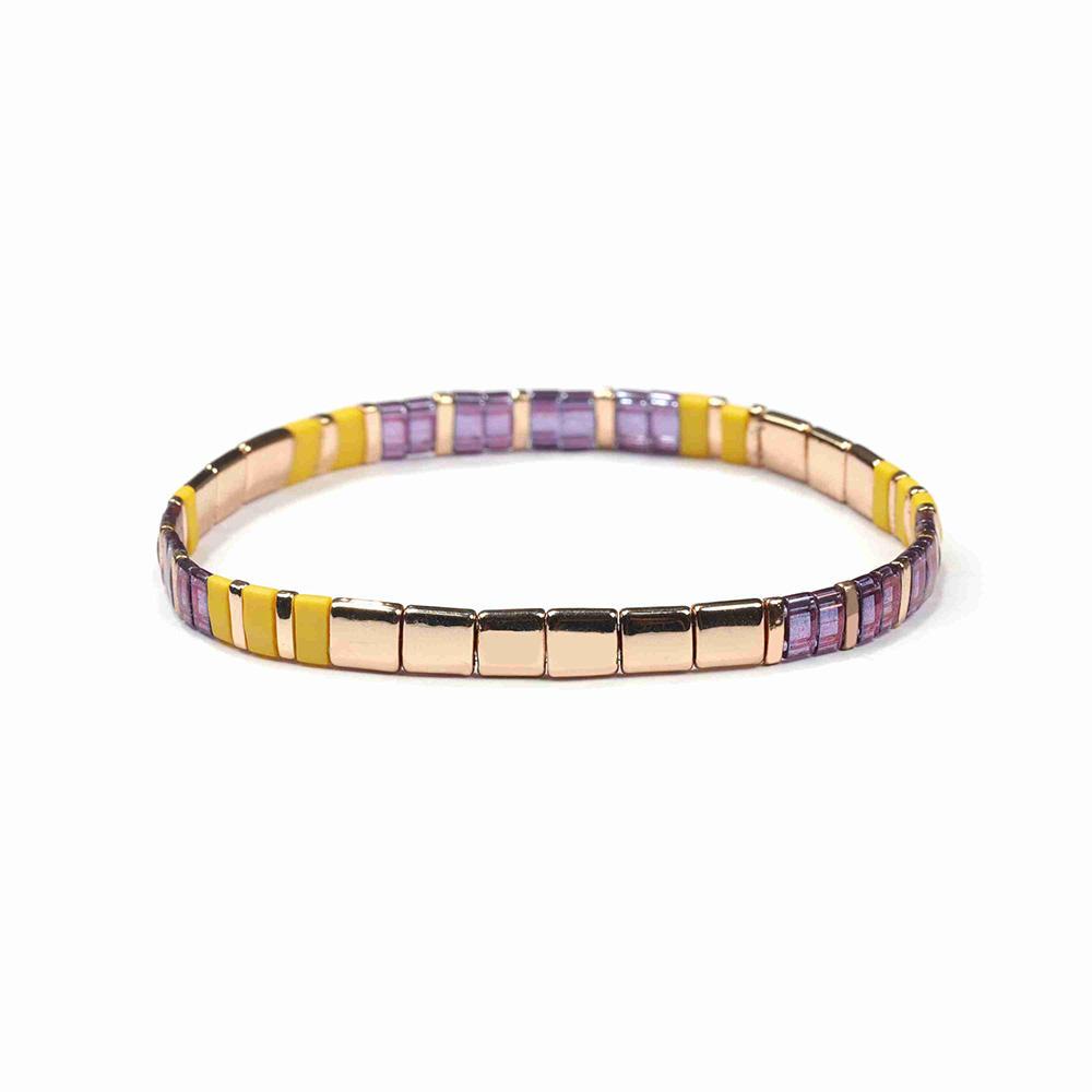 Designer Western Jewelry Making Supplies Vendor Beach Ladies Bohemian Gold Plated Beaded Bracelet Fashion Custom Women Jewlery