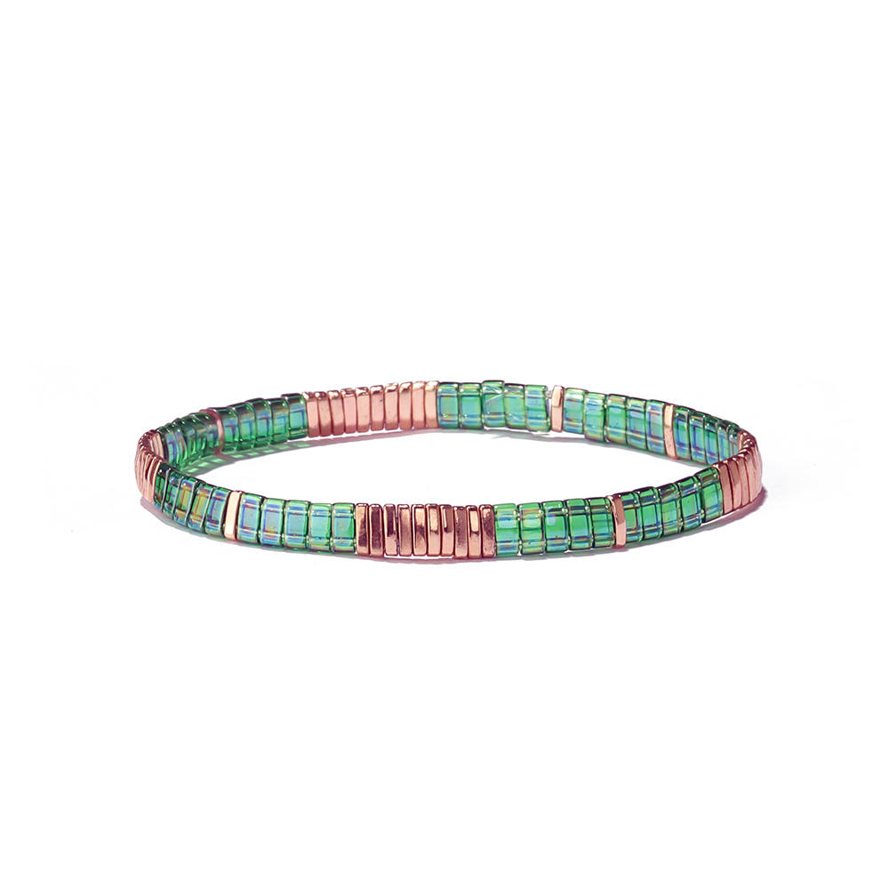 Beauty colourful Handmade Tila bead Bracelet for wholaste or Retail