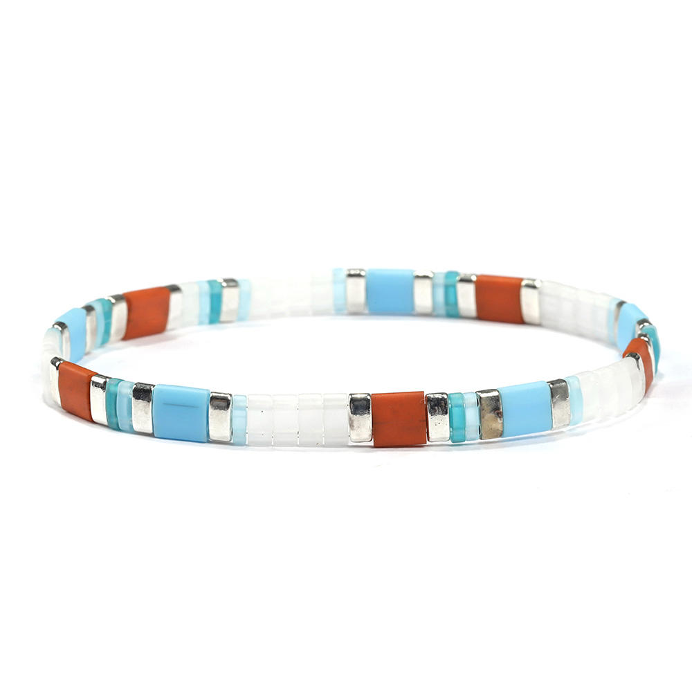 Handmade Colorful Tila Beach Bracelet  Wholesale Accessories Women Bracelet Jewelry