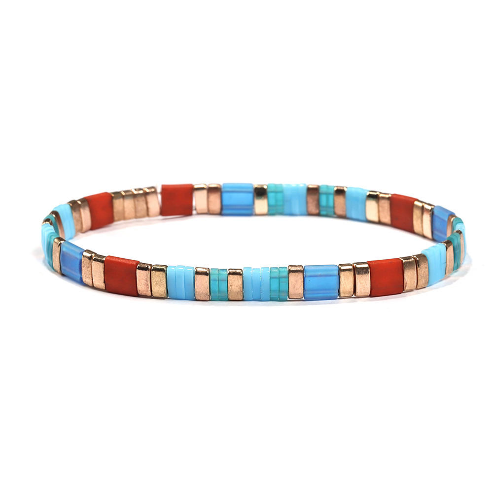 Wholesale Hot sale Handmade Tila Bead Bracelet for women